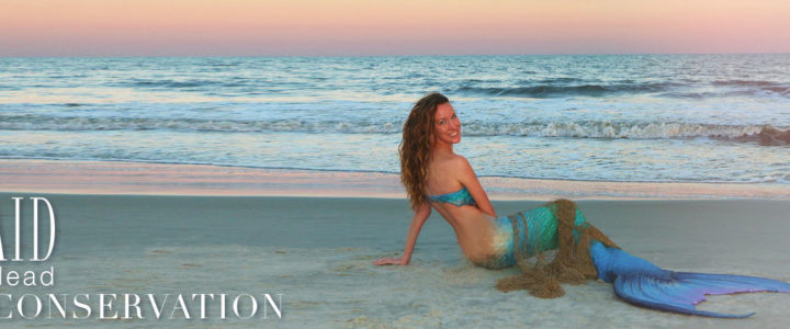 The Mermaid of Hilton Head Talks Conservation